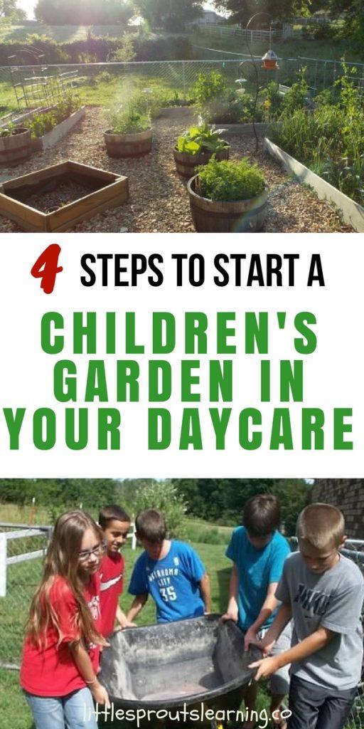 4 Steps to Start a Children's Garden in Your Daycare