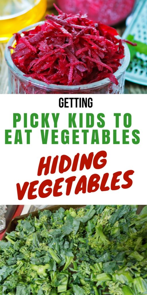 Getting Picky Kids to Eat Healthy-Hiding Vegetables