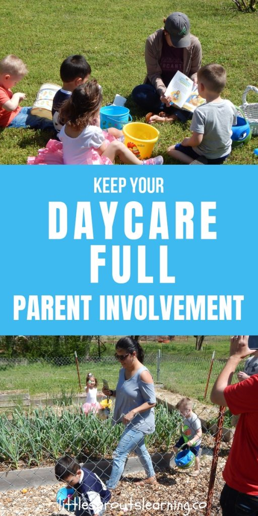 Parent involvement activities for daycare help you bond with parents and build relationships! Quality care is important, but communication is too.