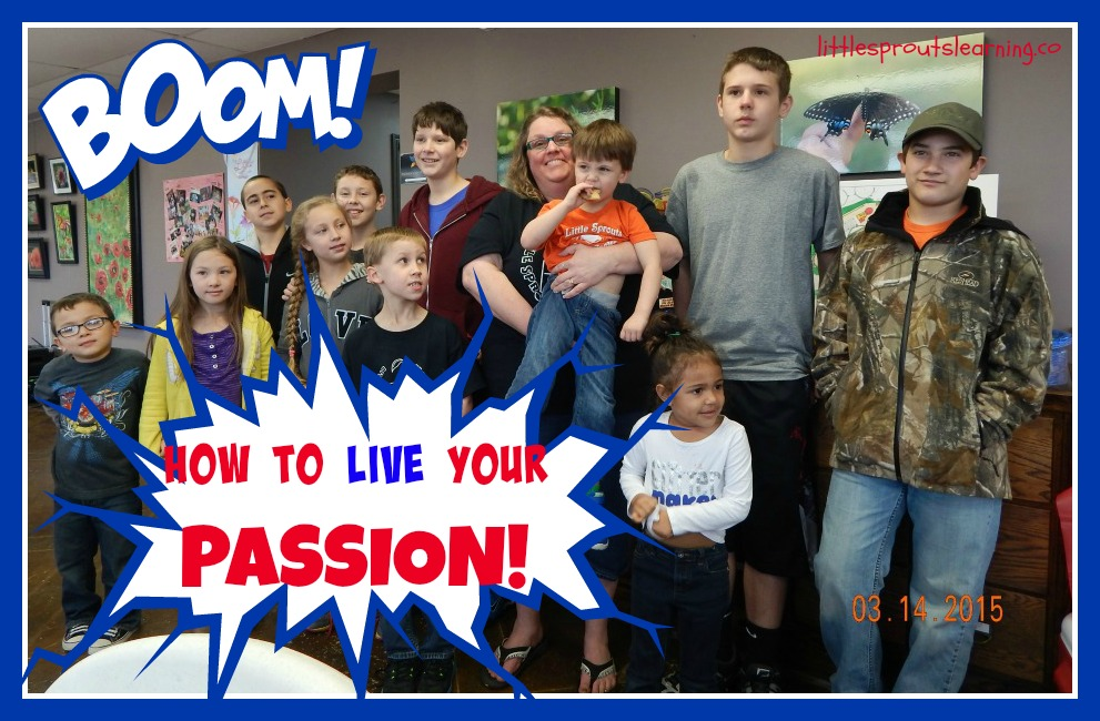 Group of kids with daycare provider, how to live with passion for what you do