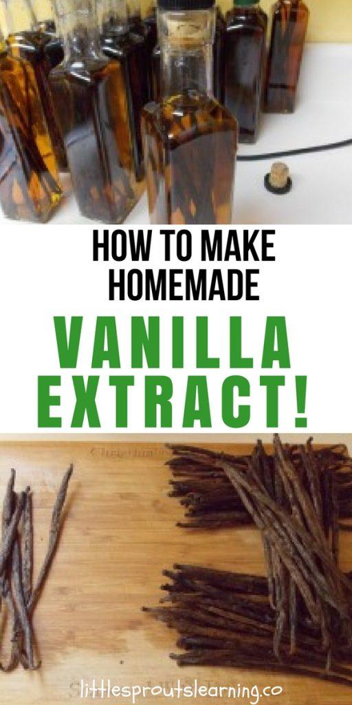 How to Make Homemade Vanilla Extract!