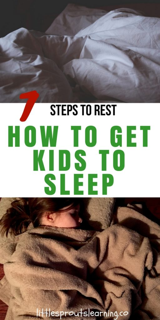 7 Steps to Rest-How to Get Kids to Sleep