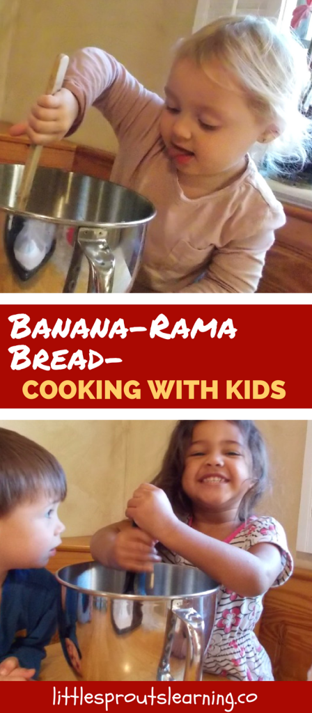 Banana-Rama Bread-Cooking with Kids