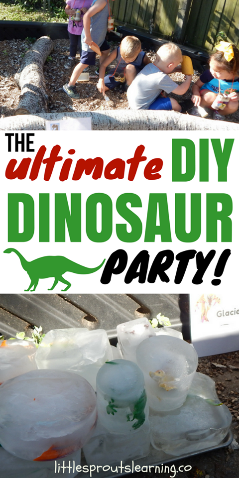The Ultimate Dinosaur Kids Party Ideas