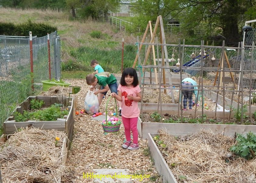 easter egg hunt for daycare