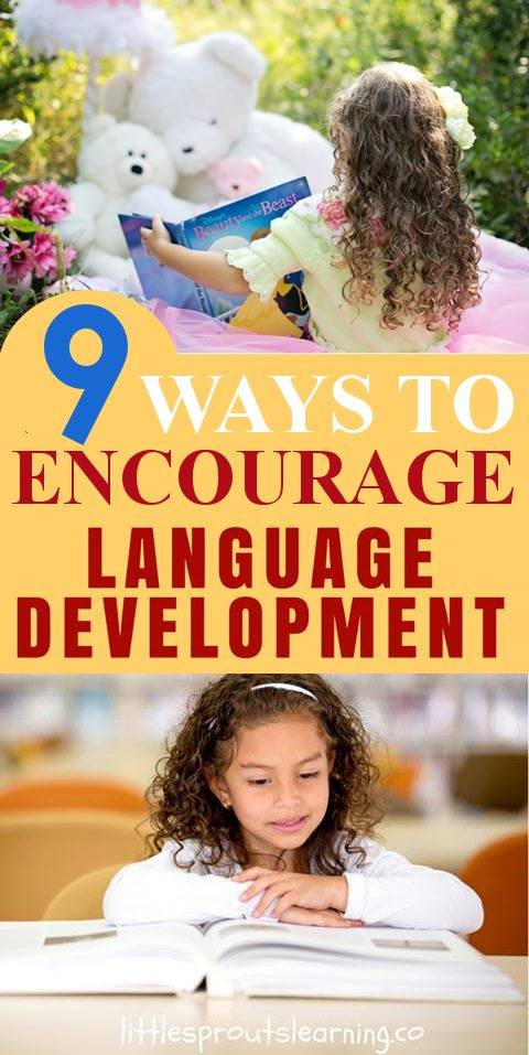 9 Ways to Encourage Language Development in Your Kids