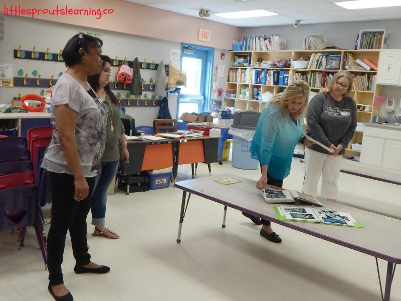 childcare center garden tour