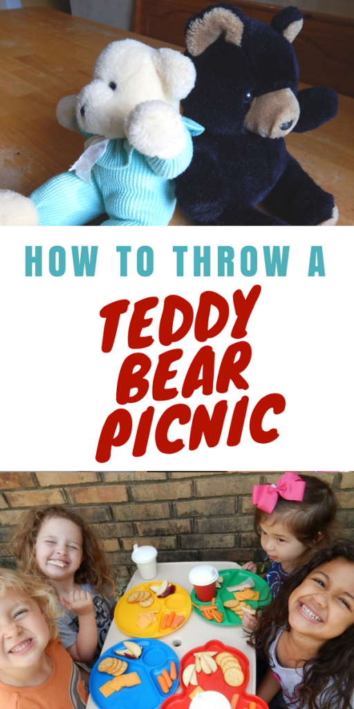 How to throw a teddy bear picnic