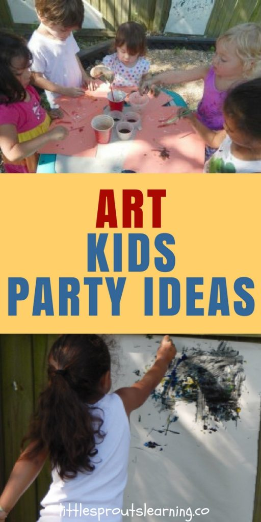 The Ultimate Art Kids Party Ideas