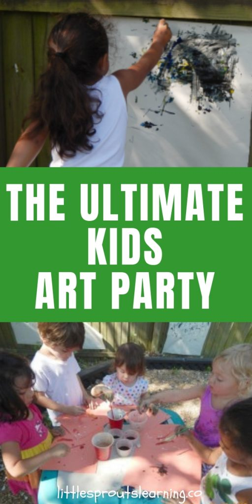 Creative kids grow up to be creative adults that will change the future of our world with their ideas. A kids art party is a great way to nurture that creativity.