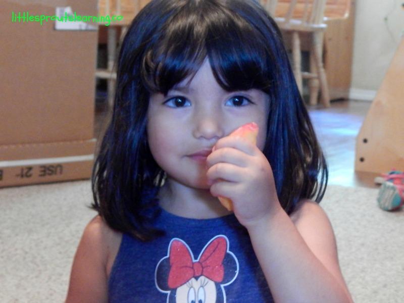 yummy teddy bear picnic peaches, home daycare, family childcare, preschool