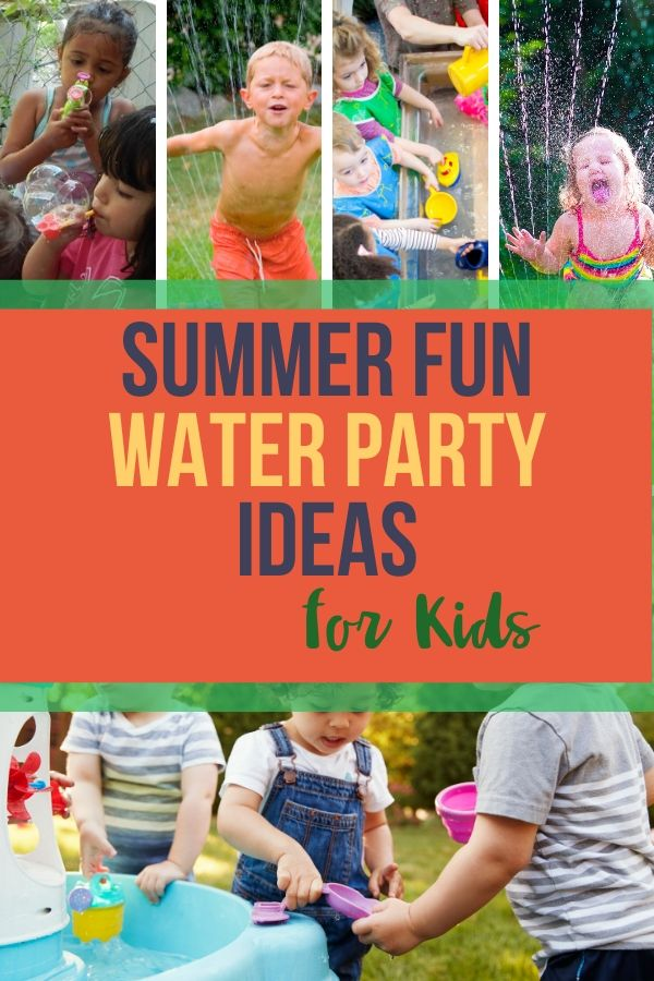 Sprinkler parties are so much fun for kids in the summer! You don't have to spend a ton of money to use these great summer fun water party ideas for kids.