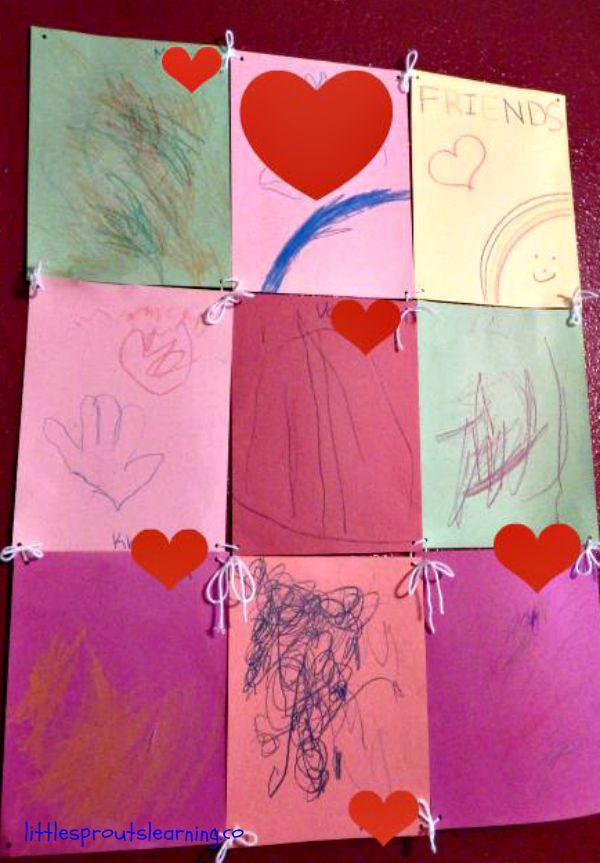 Friendship quilt for friendship week