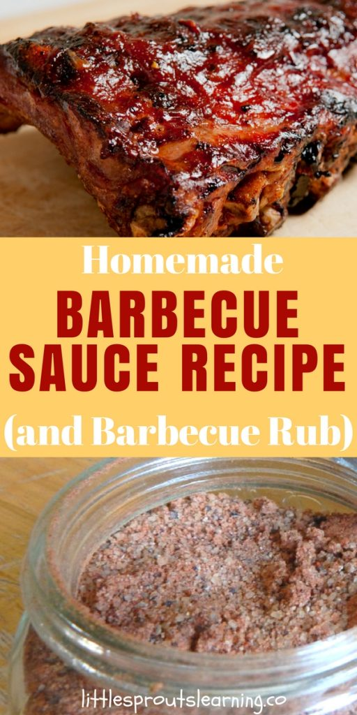 Homemade Barbecue Sauce Recipe (and Barbecue Rub)