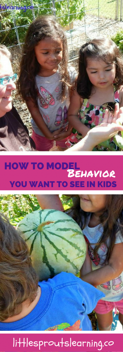 How to Model Behavior You Want to See in Kids