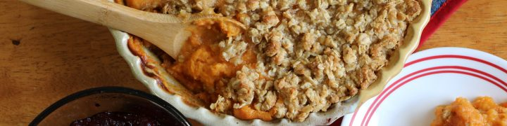 My Aunt Pat is world famous for her delicious Sweet Potato Casserole recipe and now I'm sharing it with you.