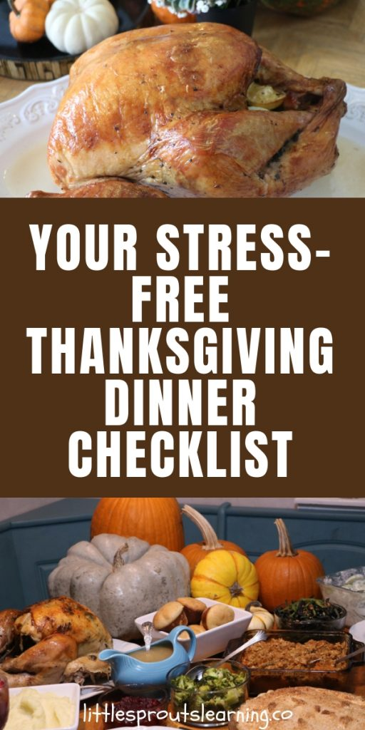 Getting your home and food ready to host Thanksgiving can be daunting. Don't worry, your stress-free Thanksgiving dinner checklist will keep you on track.