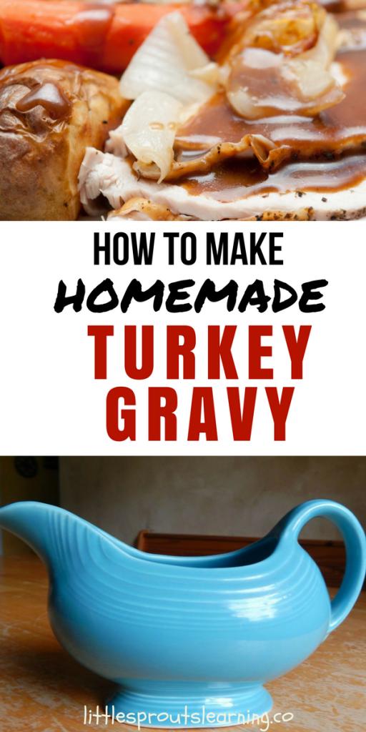 How to Make Homemade Turkey Gravy