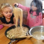 LOTSA PASTA RECIPE: Cooking with kids is fun and rewarding! This Lotsa Pasta recipe was a huge hit here at Little Sprouts. The possibilities of what you could add to it are endless. You can use leftovers, whatever you need to use up from the fridge, and it's healthy!