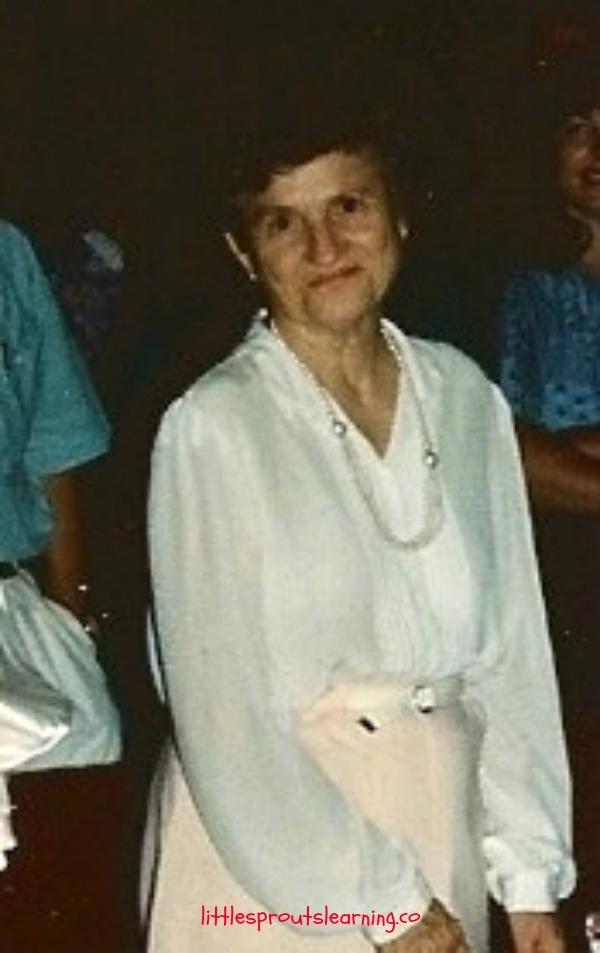 my precious grandma