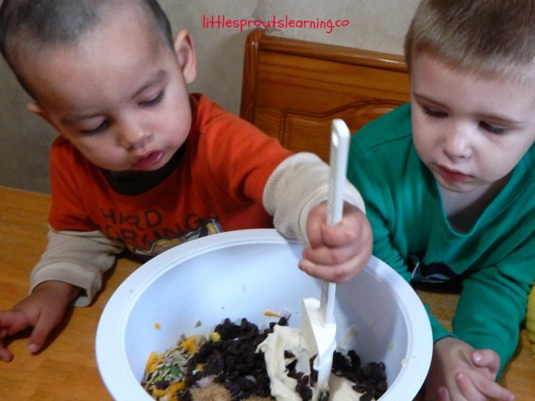 Cooking with Kids-Broccoli Salad Recipe