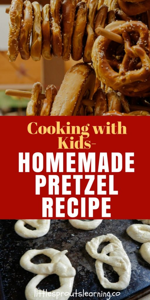 Cooking with Kids-Homemade Pretzel Recipe