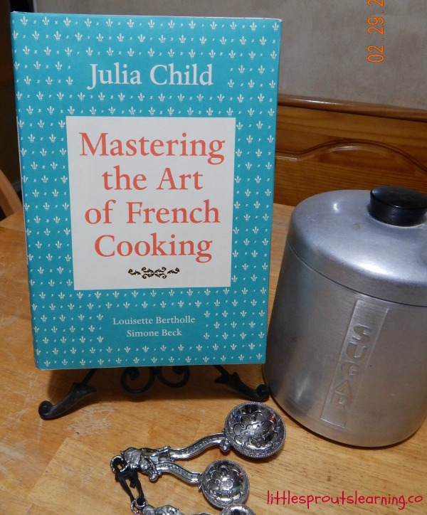 Julia Child inspiration cooking