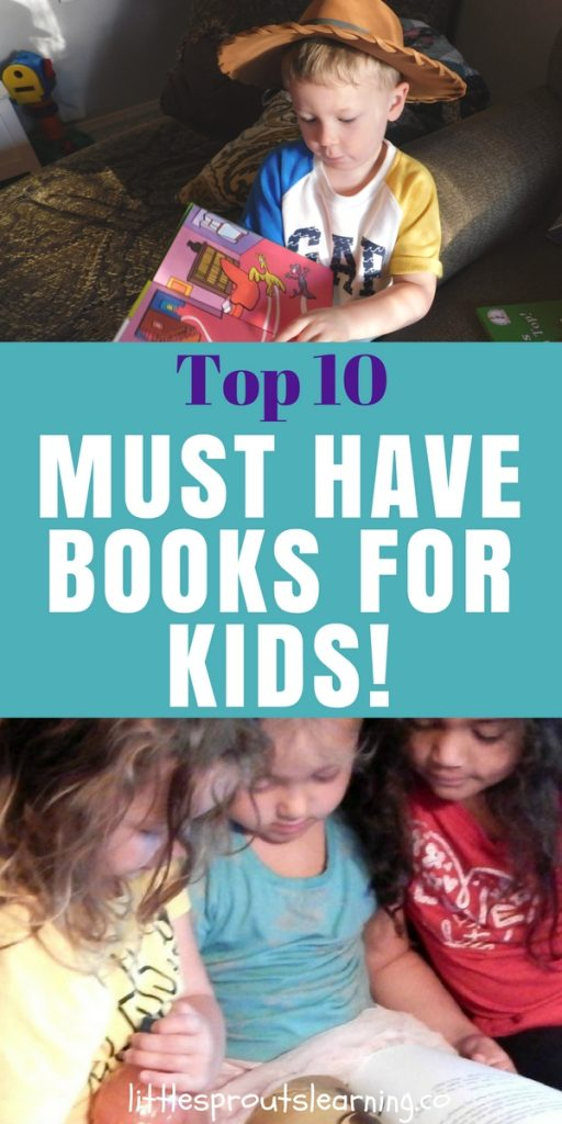 Top 10 MUST HAVE Books for Kids!
