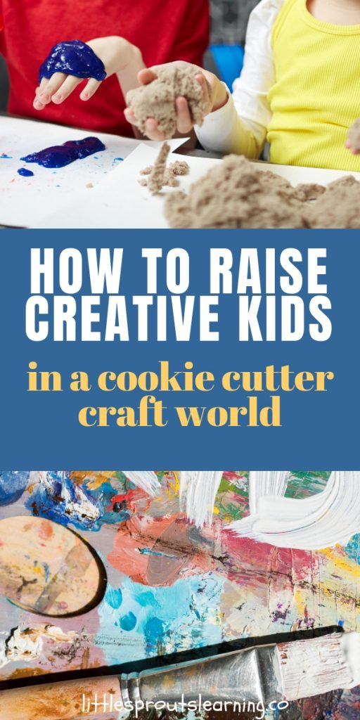Craft projects are cute, but if we teach children all art should look exactly the same, what are we really saying to them? We have to cultivate creative kids.
