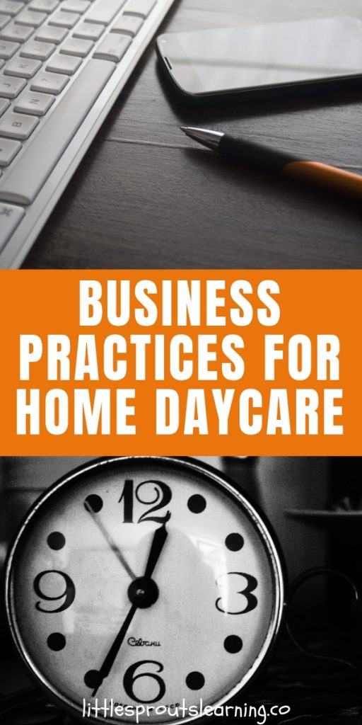 There are a few things you need to be doing in order to have good business practices for home daycare that will save you so much headache in the future. Running a family childcare home IS running a business.