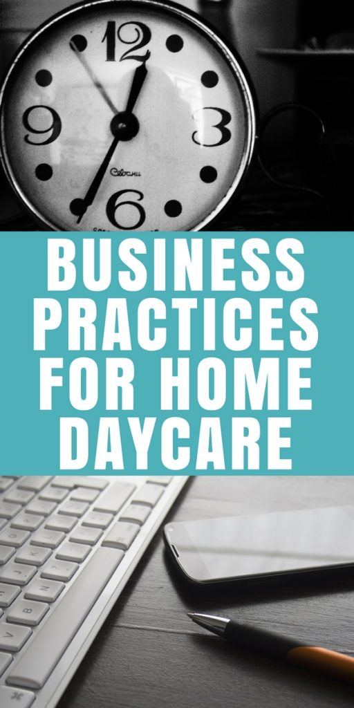 Business Practices for Home Daycare