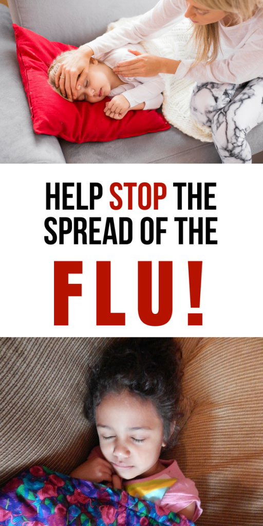 Help stop spreading the flu!