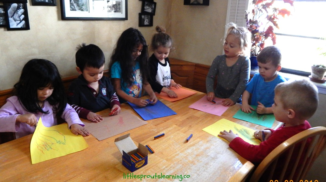 open ended kid's art to build self esttem and nurture creativity
