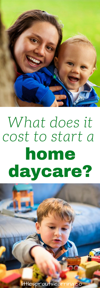 Start up expenses for family childcare, home daycare
