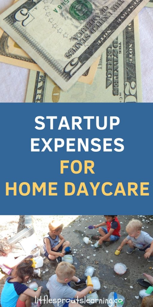 Start up expenses for Home Daycare