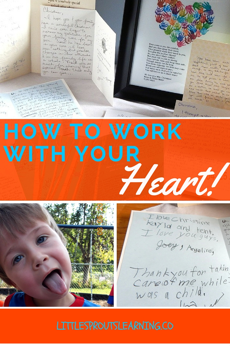 How to work with your heart