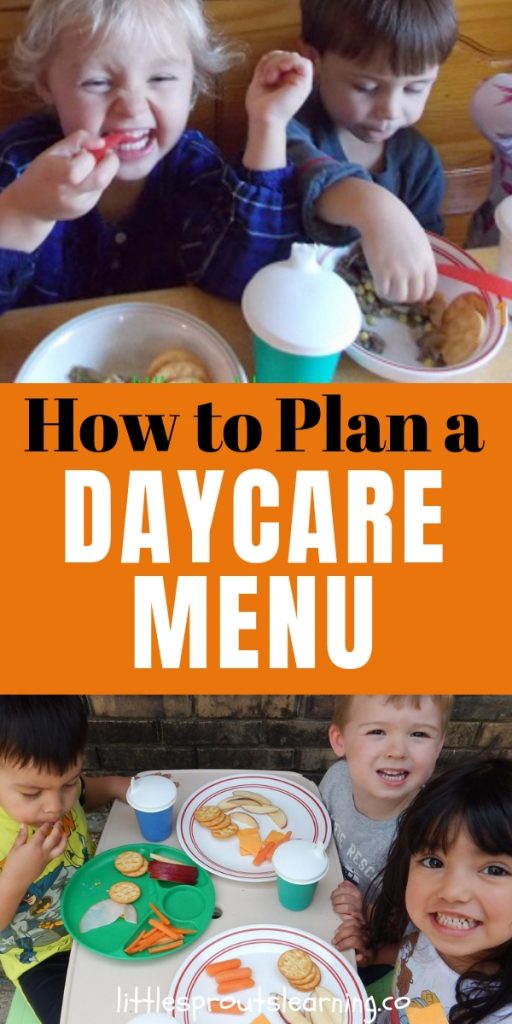 When you get ready to plan a daycare menu, do you feel overwhelmed or don't know where to begin? With a few simple steps, you'll have your menu planned before you know it.