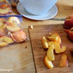 Peaches are one of my favorite foods. My kids LOVE foods we make with peaches too such as these peach yogurt pops we created for a healthy snack.