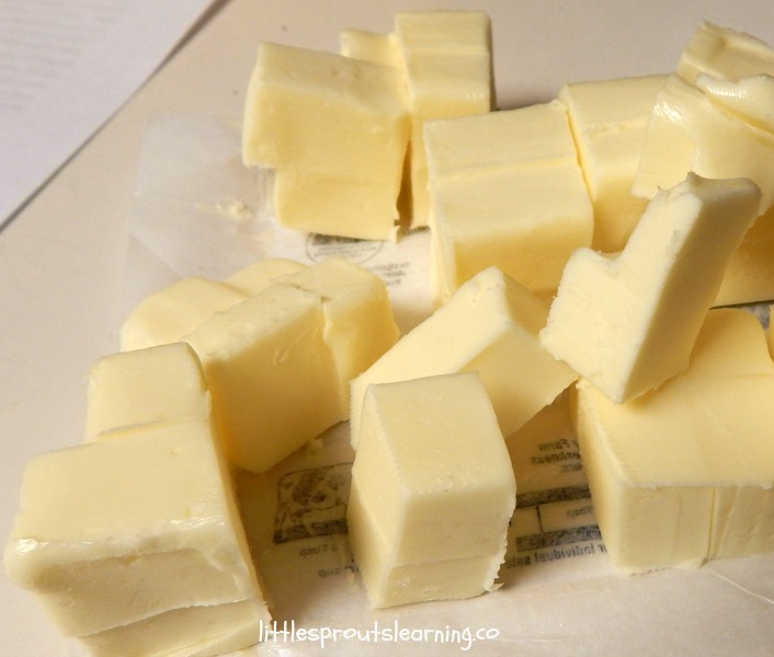 butter for empanada dough
