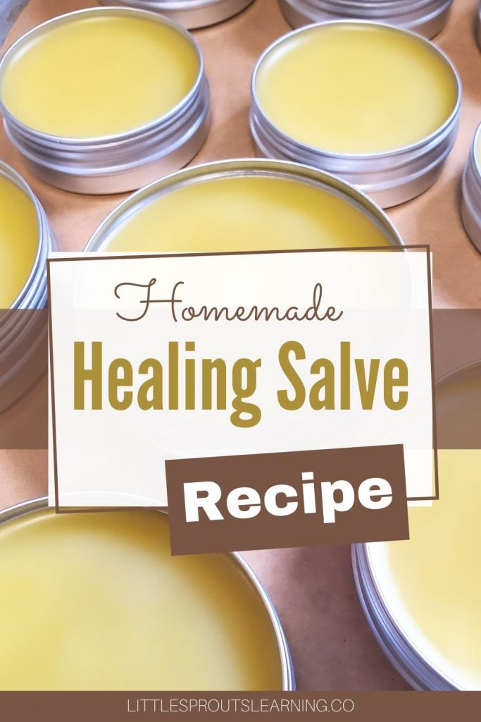 Learn how to make homemade healing salve and you won't need to buy antibiotic ointment again for chapped lips, dry skin, cuts, scrapes, bruises, or burns.