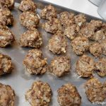 This frozen meatball recipe is a kid-pleaser. They are stuffed with hidden nutrition and I make a ton of them and freeze them so they're ready.