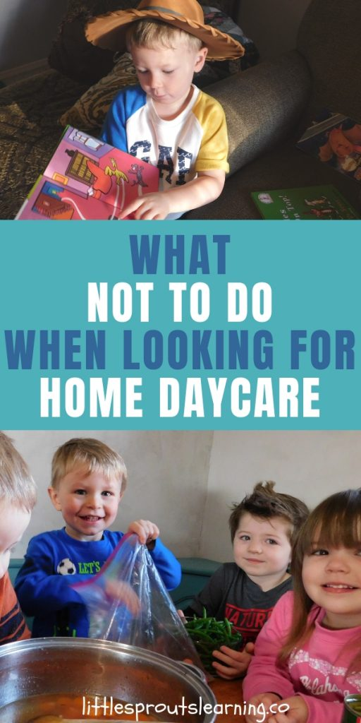 When looking for home daycare for your child, good communication is key. Here are 20 things NOT to do when looking for home daycare.
