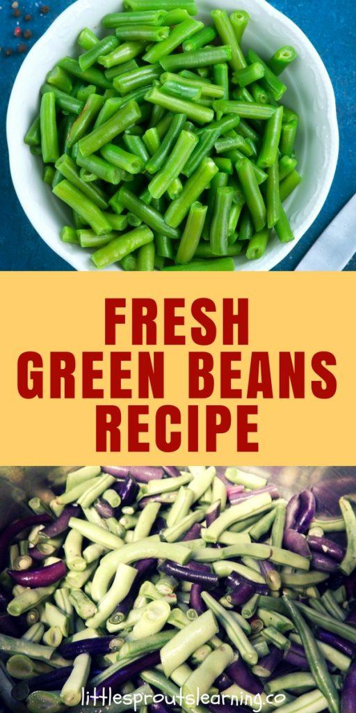 Garden Fresh Green Beans recipe