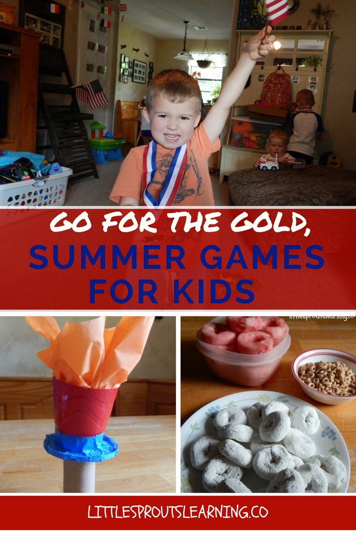 Go for the Gold, Summer Games for Kids