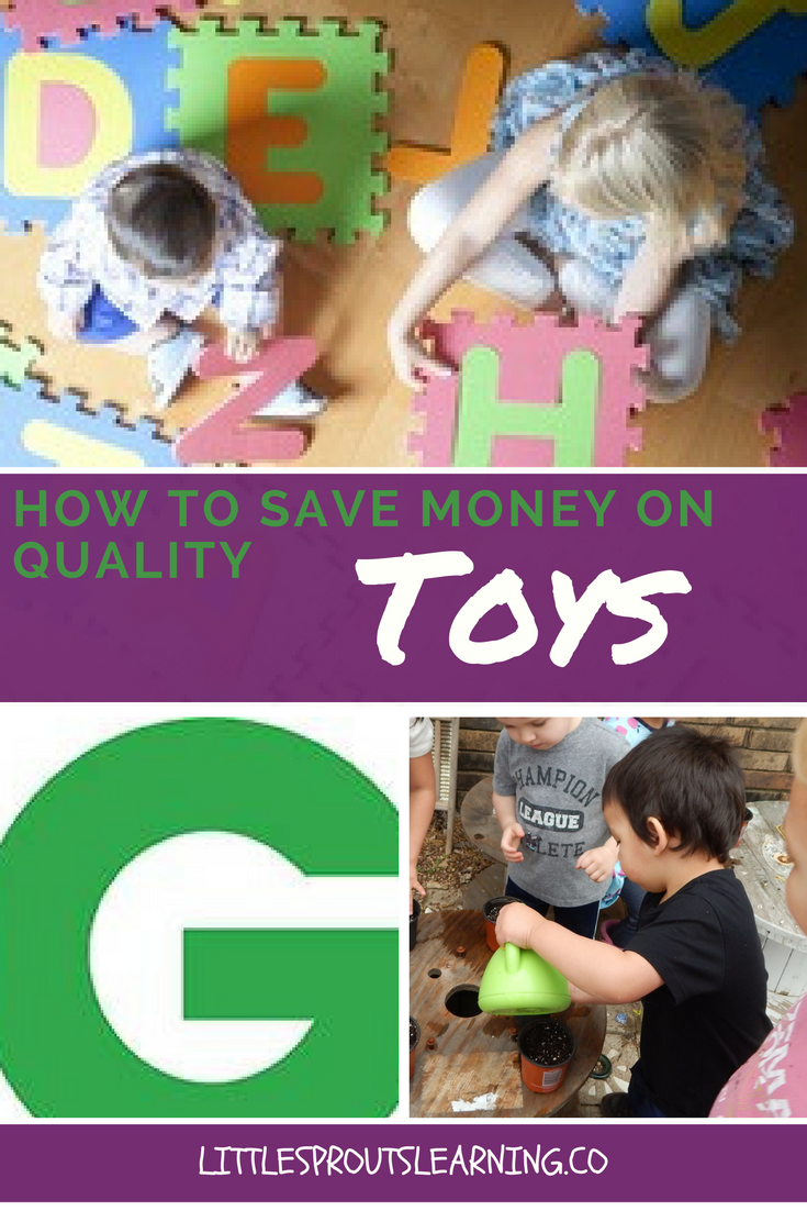 How to Save Money on Quality Toys
