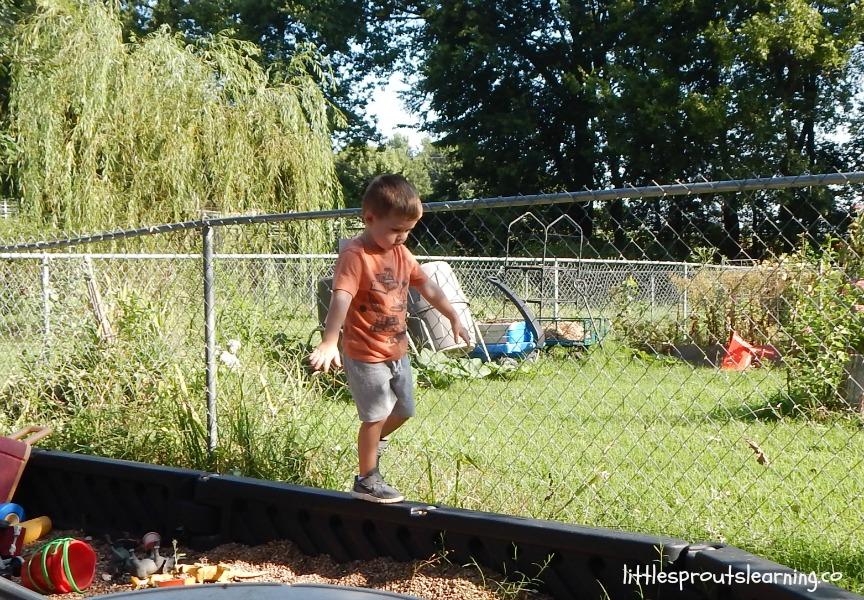 balance beam event for kids summer games