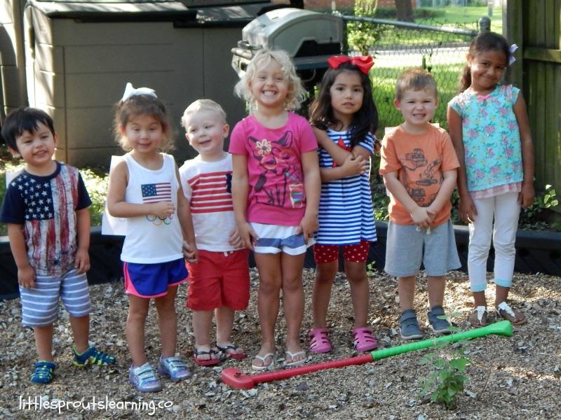 kids summer games event