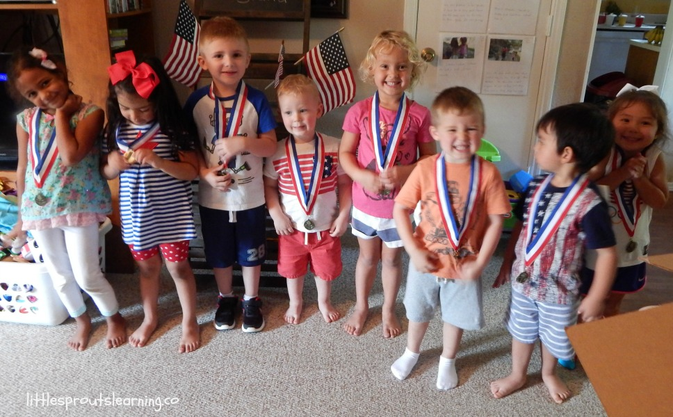olympic gold medals for kids summer games