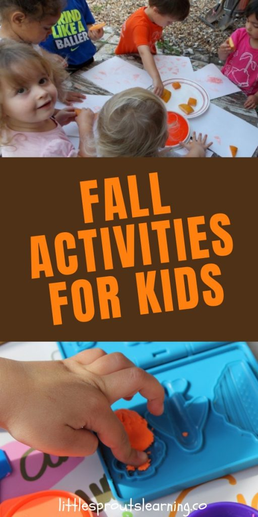 Are you searching for things to keep your kids busy for fall? Get a little creative and you can come up with a ton of fun fall activities for kids!