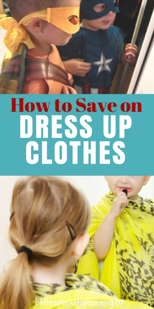 How to Save on Dress Up Clothes
